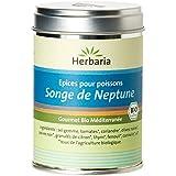 Herbaria Songe de Neptune Mélange d'Epices Bio pour Plats de Poissons Méditerranéens 100 g