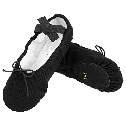 ZEARO Kinder Ballet Schuhe Spitzenschuhe Süße Weiche Komfortable Kinder Solide Mit Verschiedener Größen und Färben
