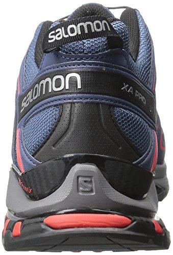 Saucony Xa Pro 3d, Scarpe da Trail Running Uomo Blu (Slateblue/Detroit/Radiant Red)