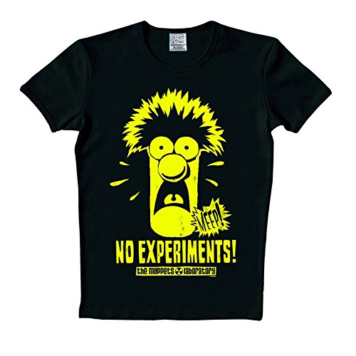 Muppets - Beaker T-Shirt fluoreszierend - XS -