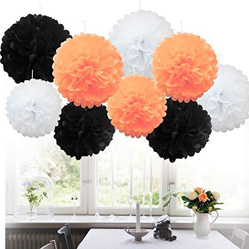 api PomPoms PomPons Blumen Hochzeit Party Dekoration, Poms-Halloween Shade ()