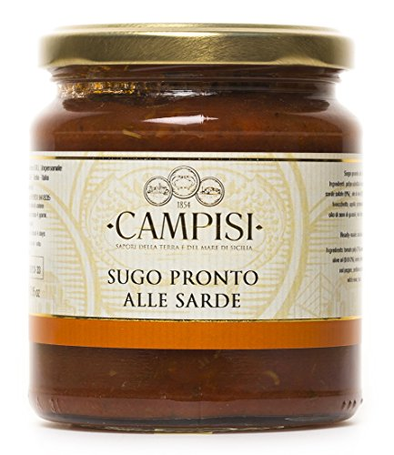 TIPILIANO | Sauce tomate aux sardines | 220 gr.