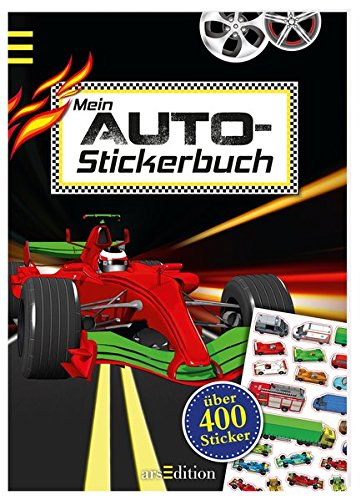 Mein Auto-Stickerbuch (Mein Stickerbuch)