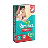 #3: Pampers Small Size Diaper Pants (60 Count)