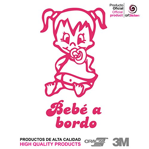 Artstickers® Adhesivo Pegatina Bebe Bordo - BABYFUN