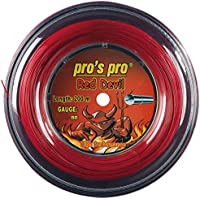 Pro Red Devil 1,29mm 200m de Pro endiabladamente buena cordaje rojo