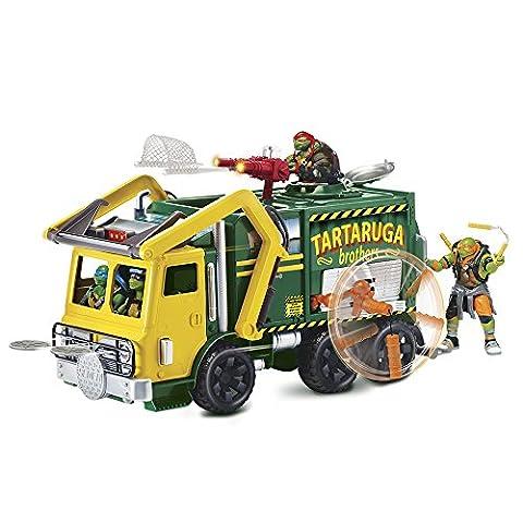 Teenage Mutant Ninja Turtles Film 2Tactical Truck und Leonardo Figur