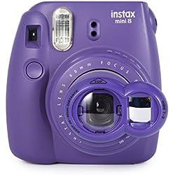 Woodmin Close Up selfie Lense Für Fuji Mini 8 8+ Mini 9 Mini 7s Mini KT Kamera (Porpora)