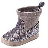 Botas de Bebe Invierno, Recién Nacido niño niñas bebés niños Bling cálido Invierno Suave Suela Botas Zapatos Casuales Zapatitos de Calzado