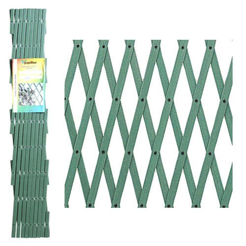 PAPILLON 8091545 Celosia PVC Verde Extensible 3x1 Metros.