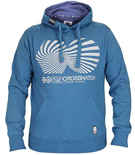 Crosshatch -  Felpa con cappuccio  - Uomo Twisler - Mykonds Blue