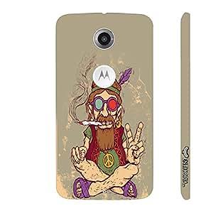 Motorola Moto X2 2nd Gen Ganja Babe designer mobile hard shell case by Enthopia