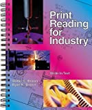 Print Reading for Industry unknown Edition by Walter C. Brown, Ryan K. Brown [2001]