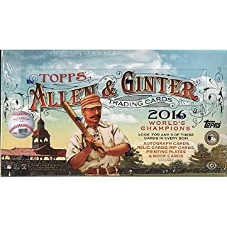 2016 Topps Allen & Ginter Baseball Hobby Box MLB