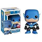 Funko - Figurine DC Comics - Blue Lantern Flash Exclu Pop 10cm -...