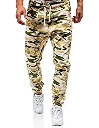 BOLF – Pantalons de sport – Jogging – Military – Sport – Training – Motif – ATHLETIC 0367 Homme