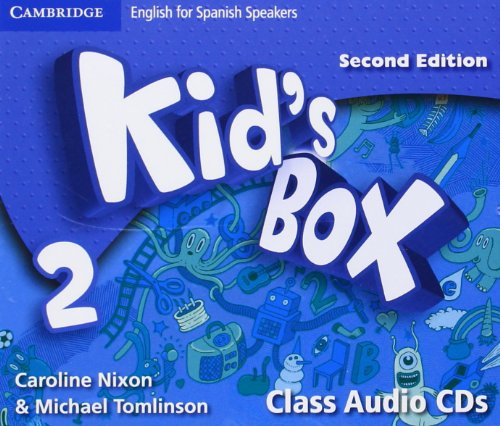 Kid's Box for Spanish Speakers Level 2 Class Audio CDs Second Edition - 9788483238738