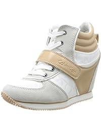 Calvin Klein Jeans Viridiana - Zapatillas de deporte de material sintético para mujer