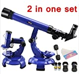 #8: 2 in 1 Science set Telescope & Microscope Science Learning Educational Space Toy Explore the mysterious galaxy