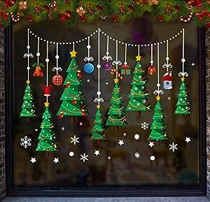 UMIPUBO Pegatinas de Navidad una