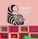 Imagination ist die einzige Waffe in der gegen die Realit?t Beliebte Charaktere Kinder Wandtattoo