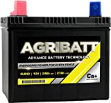 AgriBatt ELB40 Heavy Duty Electric Fence Battery 12V 27Ah c100