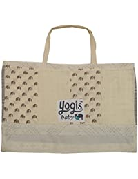 Yogis Organic Baby Diaper Bag (Beige)