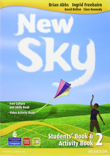 New sky. Student's book-Activity book-Sky reader. Per la Scuola media. Con CD Audio. Con espansione online: 2
