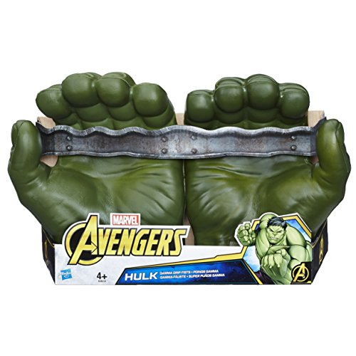 Marvel Avengers- Hulk Super Puños Gamma Hasbro E0615EU4
