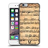 Head Case Designs Mozart Music Sheets Protective Snap-on Hard Back Case Cover for Apple iPhone 6 4.7