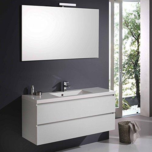 Mobili bagno doppio lavabo - Amazon mobili bagno sospesi ...