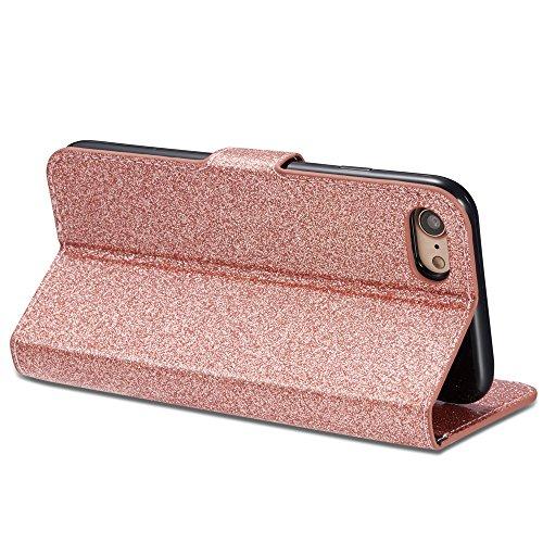 Bling Love fibbia case-iphone, Pink, iPhone 6 Plus/6S Plus Rose Gold