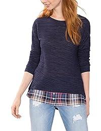 ESPRIT 086ee1j008, Suéter Para Mujer