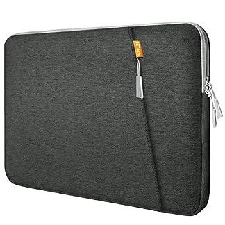 51F9nTOS0SL. SS324  - JETech Funda Protectora Bolsa para Notebook Tablet iPad Tab Función Protectora Impermeable Resistente a Golpes con Accesorio de Bolsillo