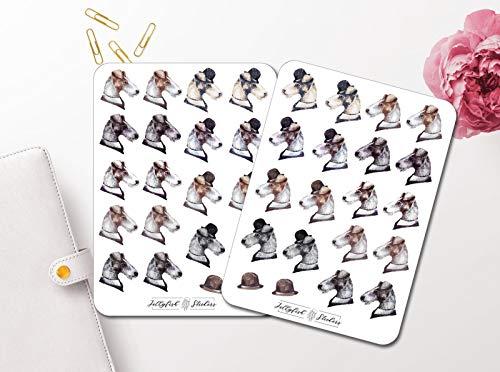 Vintage Hunde Sticker Set | Aufkleber Tiere | Journal Sticker | Sticker Terrier | Sticker Haustier -