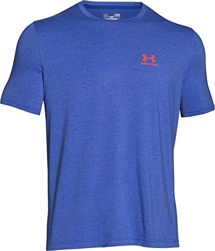 Under Armour Herren Fitness Cc Left Chest Lockup Kurzarm T-Shirt Cobalt