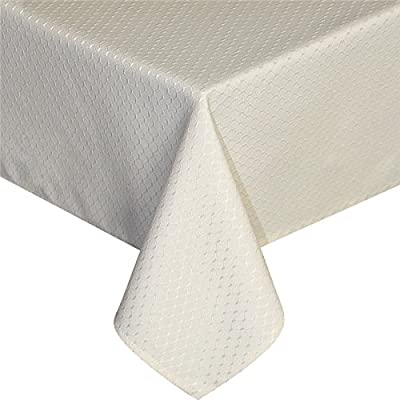 Eurcross Polyester Waffle Tablecloth Rectangular Stain Resistant Table Cover For Home And Picnic - inexpensive UK light shop.
