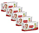 #1: Luvlap Paraben Free Baby Wet Wipes with Aloe Vera (Pack of 5, 400 Sheets)