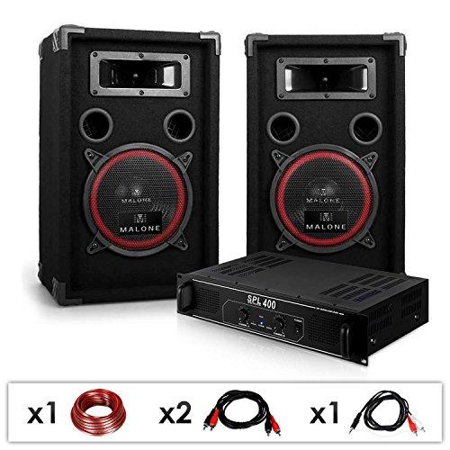 DJ 12 Set de sonido profesional