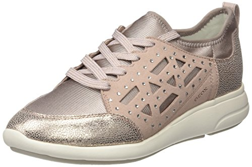 Geox Damen D Ophira B Sneaker, Pink (Antique Rose), 39 EU