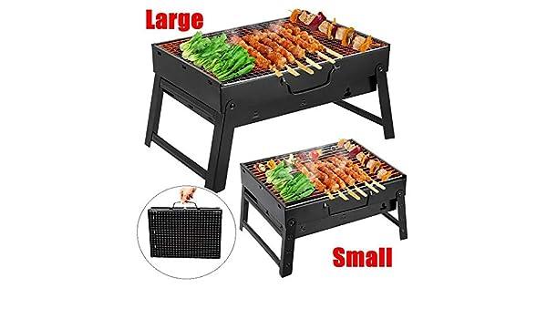 Kingko Grill Barbecue, BBQ Barbecue à Charbon en Acier