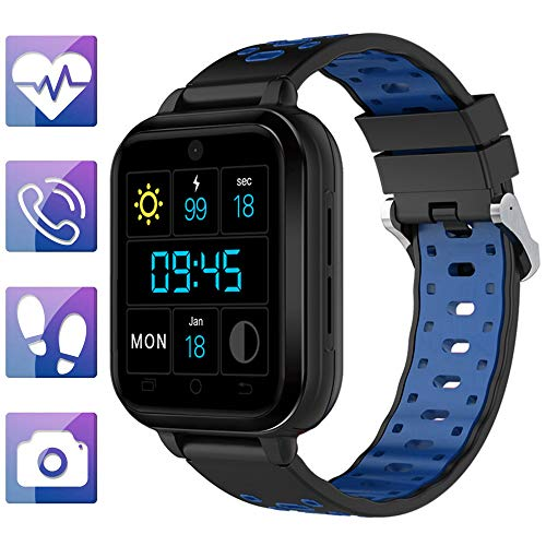 4g mic smart Watch q1 pro / m1 Android 6.0/1 gb / 8 gb Bluetooth smartwatch WiFi GPS ip67 wasserdicht herzfrequenz blutdruckmessgerät männer für Android Phone, lqxxx