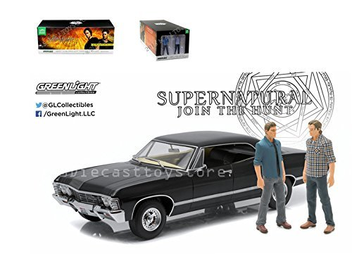 greenlight-118-artisan-collection-supernatural-1967-chevrolet-impala-ss-by-greenlight