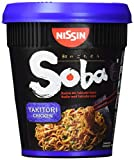 NISSIN Foods  Soba Cup Yakitori Chicken, 8er Pack (8 x 89 g)