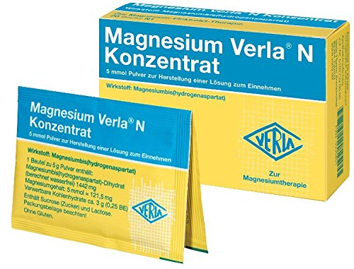 MAGNESIUM VERLA N Konzentrat Plv.z.H.e.L.z.Einn. 500 St Pulver zur Herstellung einer Lösung zum Einnehmen