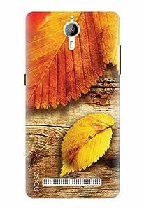 Noise Designer Printed Case / Cover for Panasonic P77 4G / Nature / Autumn