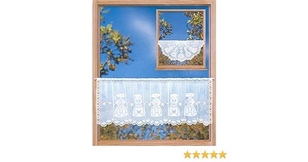 BxH Vitragenstange Scheibengardine Butterfly 160 x 50 cm inkl