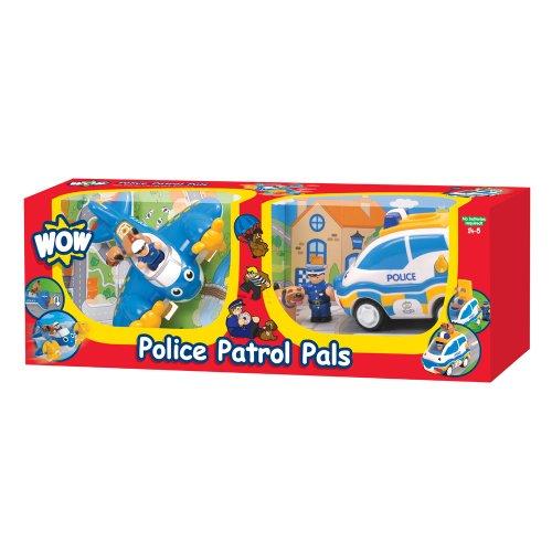 WOW Toys Police Patrol Pals, coche de juguete (80028)