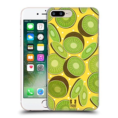 Head Case Designs Cerise Empreintes De Fruit Étui Coque D'Arrière Rigide Pour Apple iPhone 5 / 5s / SE Kiwi