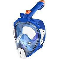 AQUAZON Sirius. SGS getestete Schnorchelmaske, Tauchmaske, Vollgesichtsmaske für Erwachsene und Kinder
